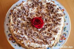 En helt herlig kake som anbefales til helgen!
