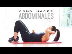 Cómo hacer abdominales correctamente