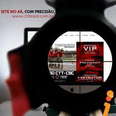 #Homologação: A CTT Brasil, Centro de Treinamento Tático, é um empreendimento único na América Latina por conjugar, numa parceria de excepcional eficiência, uma indústria de munições do porte da CBC – Companhia Brasileira de Cartuchos a uma estrutura de ensino na área Tático Policial.  Confira o site completo pela Agência Vision Design: www.cttbrasil.com.br👊    #comunicacao #marketing #comunicacaomarketing #vision #visiondesign #agenciavision #agenciavisiondesign #design #designgrafico…