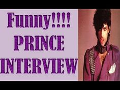 Hilarious Prince Interview  - Talks When Prince Pranked Jay Leno
