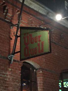 Zu Gast bei ÜberQuell. Leckere Pizza handwerklich gebrautes Bier, super Location und super Gastgeber. Danke Axel und Patrick für den schönen Abend.