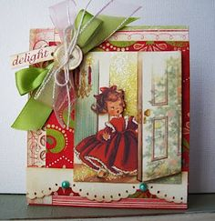 Nothin' for it - I'm tearing apart that Christmas storybook LOL!