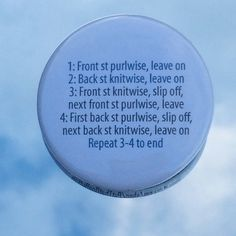 """1.50"""" Pinback button for Kitchener Stitch - pinned by pin4etsy.com"""