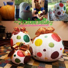 Painted Pumpkins for Fall & Halloween!
