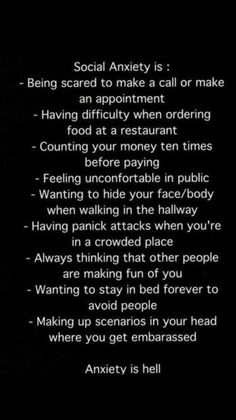 Social Anxiety is. Image: Depression, Anxiety and other Mental Health Support Mental Health and Invisible Illness Resources. Anxiety Facts, Health Anxiety, Stress And Anxiety, Social Anxiety Quotes, Depression And Anxiety Quotes, Depression Problems, Social Anxiety Disorder, Mental And Emotional Health, Mental Health Quotes