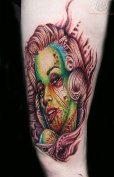TattooChief.com- perfect colors love this style tattoo