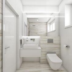 Modern bathroom ZEBRINO - visualization