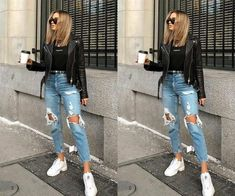 Dope Fashion, Fashion Pants, Fashion Outfits, Swag Fashion, Modern Outfits, Casual Outfits, Cute Outfits, Fila Outfit, Sneakers Looks