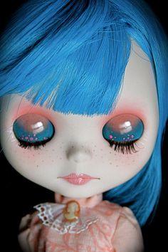 Custom Blythe doll OOAK FBL Simply Sparkly Spark by LaDamaBoba,