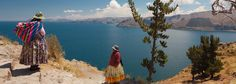 Lake Titicaca sacred and magical lands of Peru.