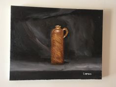 Simple bouteille terre cuite Coron, Simple, Painting, Art, Terracotta, Canvases, Bottle, Craft Art, Paintings