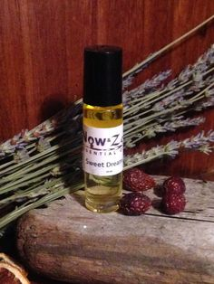 Now and Zen Essential Oils SWEET DREAMS Roll On made with 100% Pure Therapeutic Essential Oils and Sweet Almond Oi by NowAndZenOils on Etsy