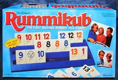 Rummikub - The Fast Moving Rummy Tile Game. - SOLD, via Bonanza. Who doesn't love a great game of Rummy?  Well now you can play this game without cards by using tiles instead.  This is a great game for two to four players and is recommended for ages 8 and up.  Add this wonderful game to your family game night rotation.