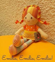 Emília - Ana Sinhana - costura divertida