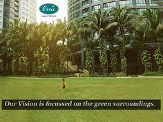 A residential Flats & Apartments  in green surrounding area.