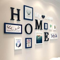 9 Pieces Home Design Wedding Love Photo Frame Wall Decoration Wooden Picture Frame Set Wall Photo Frame Set Picture Frame Sets, Wooden Picture Frames, Frames On Wall, Wood Frames, Hanging Picture Frames, Black Picture Frames, Home Design, Wall Design, Design Ideas