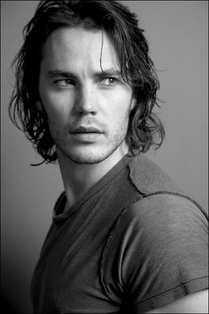 Taylor Kitsch who is very photogenic with or without color :)  He's very new to my viewing, but has made enough of an impression that he's become one to watch.  He's got a lot of potential for greatness in the right roles that showcase his full range.