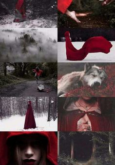 Little Red Riding Hood Wolf - Bing images Witch Aesthetic, Aesthetic Collage, Red Aesthetic, Red Hood, Dark Fantasy, Fantasy Art, Red Riding Hood Wolf, Little Red Ridding Hood, Photocollage