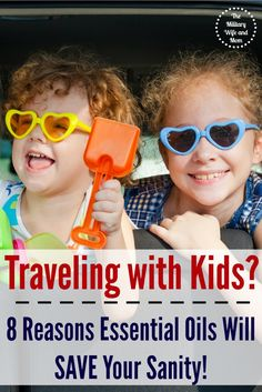 Awesome essential oil uses when traveling with kids! Worth every penny!