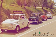 Chianti, Val d'Orcia, San Gimignano and Siena! 9 European Top Instagramers will drive 3 vintage Fiat 500 for an Instatour with MyTour Tuscany Experts from November 6 to November 9! #my500instatour and www.instatour.it to follow their travel!  Prendete 3 vecchie Fiat 500, 9 top Instagramers e portateli in giro per la provincia di Siena con l'organizzazione di Mytour Tuscany Experts. Torna Instatour dal 6 al 9 Novembre! Per seguire il loro viaggio... #my500instatour e www.instatour.it!