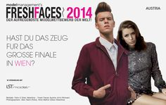 #FreshFaces Austria 2014 has been launched in association with LST models! Apply now to win a #modeling #contract! http://www.modelmanagement.com/castings/fresh-faces-2014-austria/