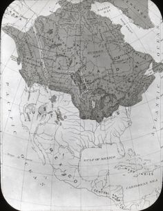 Glacial Period Map