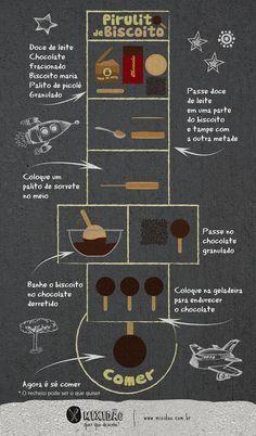 Pirulito de biscoito