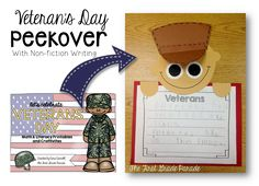 The First Grade Parade: Celebrating Veteran's Day (Freebies, Too! Writing Activities, Educational Activities, Little Mermaid Sebastian, First Grade Parade, Math Literacy, Fiction Writing, Veterans Day, Social Studies, Art For Kids