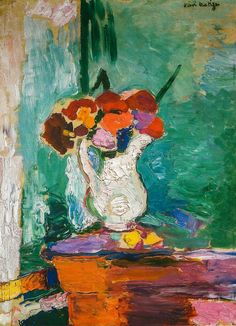 Henri Matisse - Flowers, 1907 at San Francisco Museum of Modern Art - viewed at the Legion of Honor (by mbell1975)