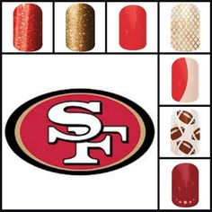 Sports inspired. www.kristinhaworth.jamberrynails.net