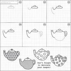 How to draw a teapot.