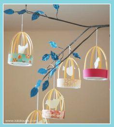 DIY Tutorial   Birdcage Party Lanterns