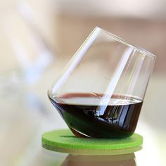 Cupa wine  tumbler & coasters... ITS LIKE A YOGA MAT FOR YOUR WINE GLASS!!!