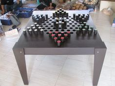 CHINESE CHECKERS , OUTDOOR GAME, BY DILEMMA GAMES: WWW.DILEMMAGAMES.COM