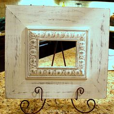 Hey, I found this really awesome Etsy listing at http://www.etsy.com/listing/115811817/vintage-white-washsilver-picture-frame