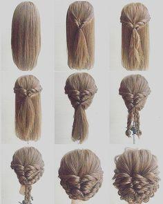Unique Hair Updo Tutorial