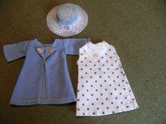 Tenue Bleuette Pastilles DE 1935 Tres BON Etat | eBay