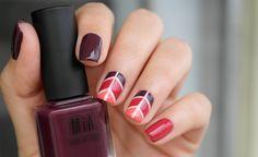 Manicura Geométrica - MIA Laurens Paris #NailArt #Manicure #MIAIs5Free #Beauty