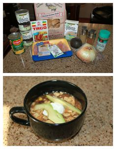 Crockpot Chicken Tortilla Soup (gluten-free!)