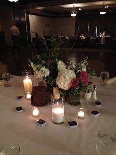 Merket wedding decor Flowers by College Flower