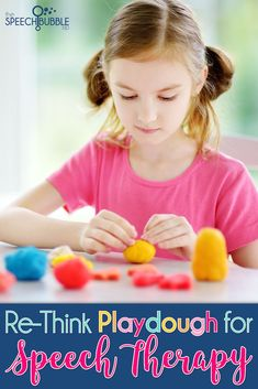 Need some ways to spice up your speech therapy on these COLD winter days??  Re-imagine how you're using Playdough in the classroom!  Great activities here in the blog, with ideas on how to use playdough to encourage articulation and language development!