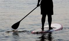 Challenge yourself with paddleboarding!
