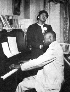 Thomas A Dorsey and Mahalia Jackson