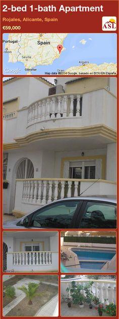 2-bed 1-bath Apartment in Rojales, Alicante, Spain ►€59,000 #PropertyForSaleInSpain