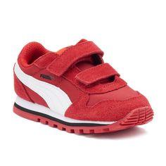 PUMA ST Runner NL Preschool Boys' Sneakers, Boy's, Size: 13, Red