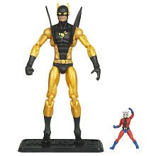 Marvel Universe Action Figure - Yellow Jacket with Ant Man