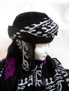 Kurdistan Frauen Tuch, kurdische Tracht Kopftuch von Prinzessinnen-Schneiderey auf DaWanda.com