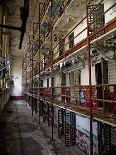 Abandoned Tennessee State Prison