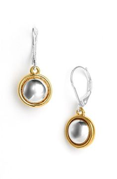 Free shipping and returns on Lauren Ralph Lauren Lauren by Ralph Lauren 'Lake Tahoe' Drop Earrings at Nordstrom.com. Modern mixed-metal earrings drop in shiny rounded spheres.