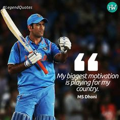 MS Dhoni explains the simple factor that motivates him! Dhoni Quotes, Ms Dhoni Photos, Kids Sports Party, Cricket Quotes, Legend Quotes, Cricket Sport, Icc Cricket, Dhoni Wallpapers, Chennai Super Kings